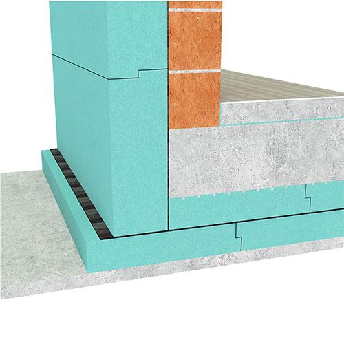 Temeljna plošča na toplotni izolaciji